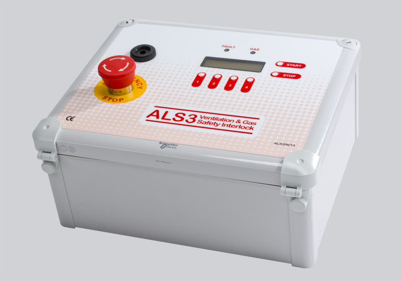ALS3 Gas Interlock, Kitchen interlock